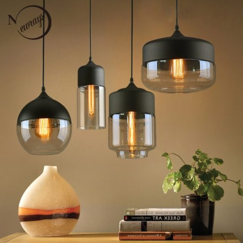 Glass Lamps Pendant Lighting
