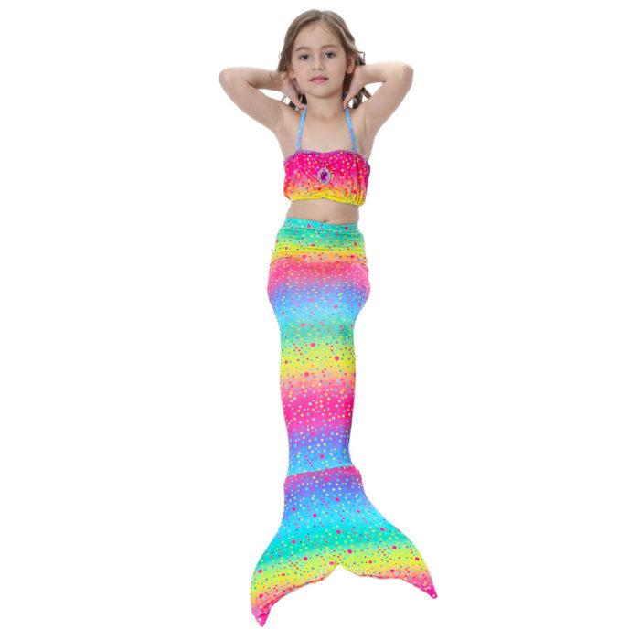 Mermaid Tails For Kids Bikini Swimwear