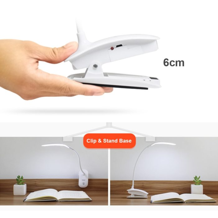 LED Table Lamp Touch To Switch