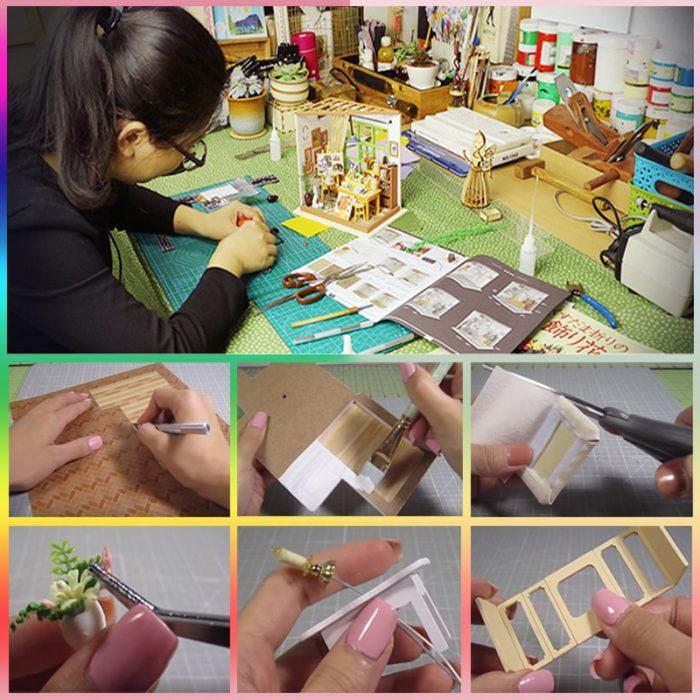 Doll House Furniture DIY Kit