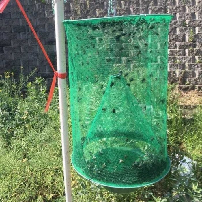 House Fly Trap Reusable Hanging Net