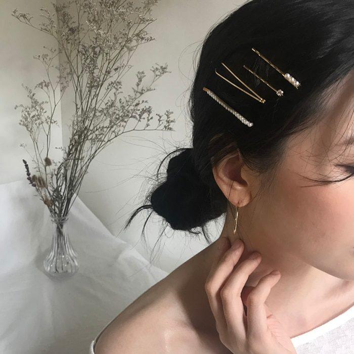 Gold Hair Clips Hair Accessories