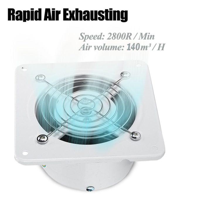 Exhaust Fan Window Ventilation