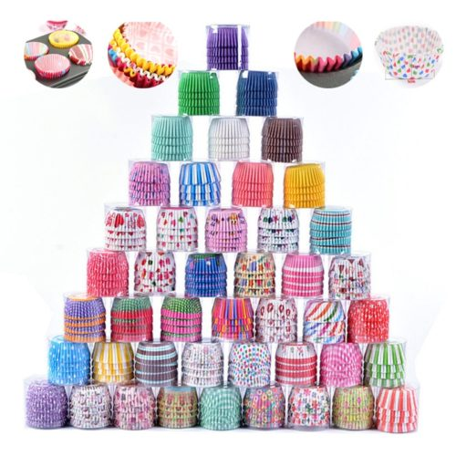 Cupcake Cases 100pcs Muffin Liner