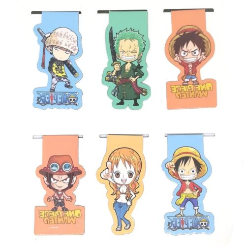 Magnetic Bookmarks One Piece Designs