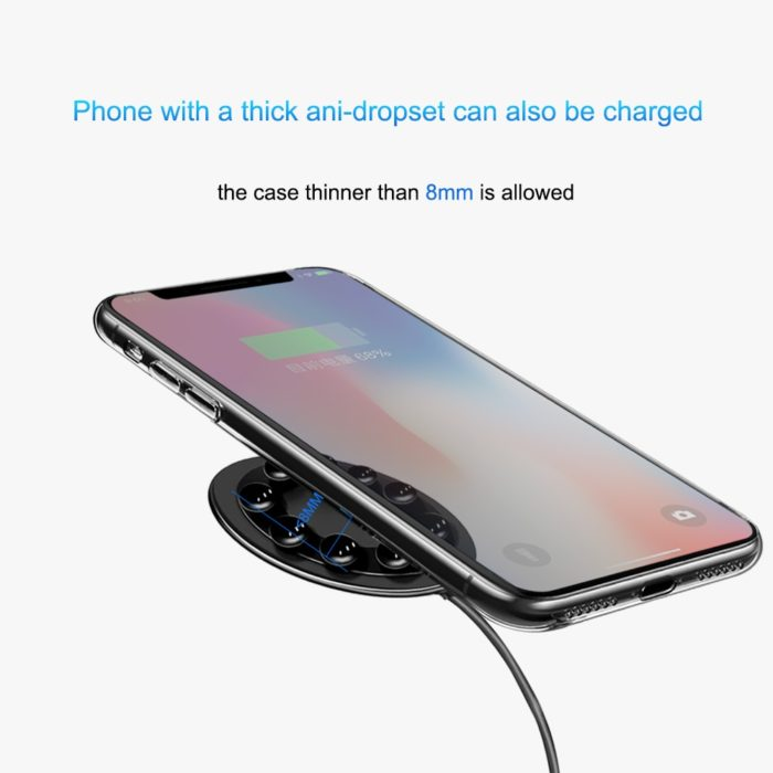 Wireless Charging Receiver Suction