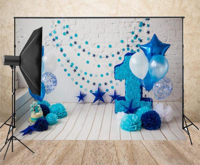 Photography Backdrops 1st Birthday