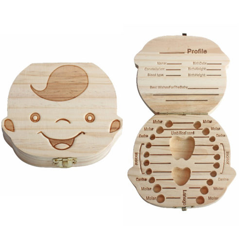 Baby Keepsake Box for Tooth