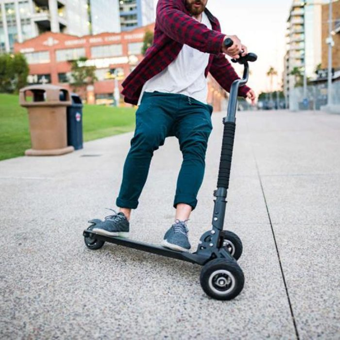 3 Wheel Electric Scooter Foldable Scooterboard