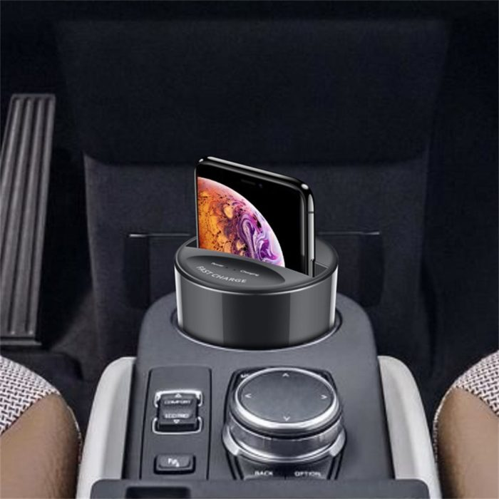 Portable Wireless Charger Car Cup