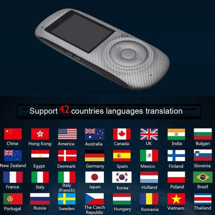 Voice Translator Business Traveling Device
