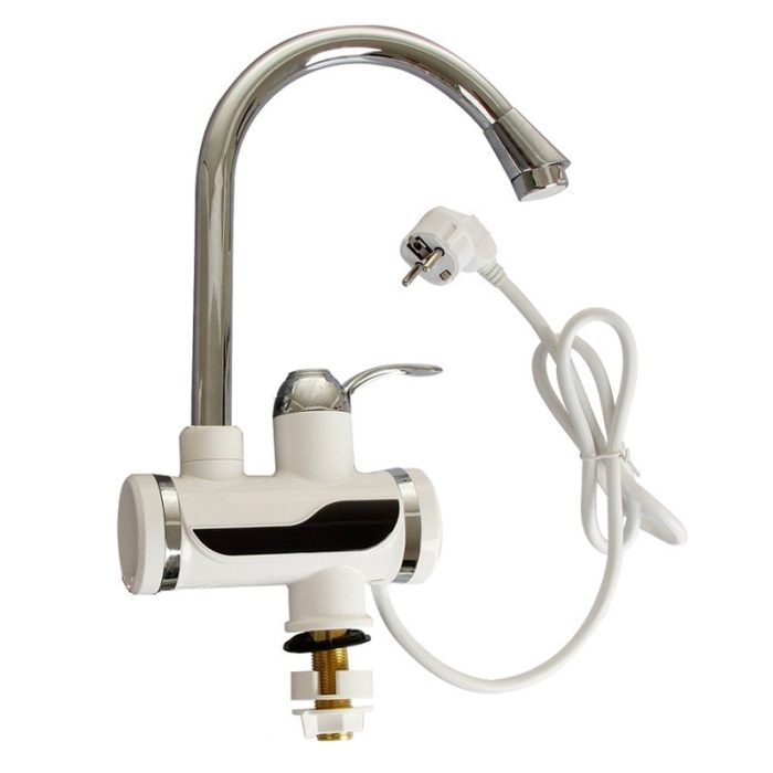 Electric Tankless Water Heater Faucet