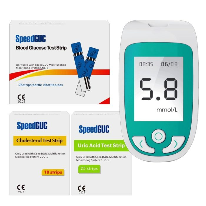 Test Kit 3in1 Health Monitoring System