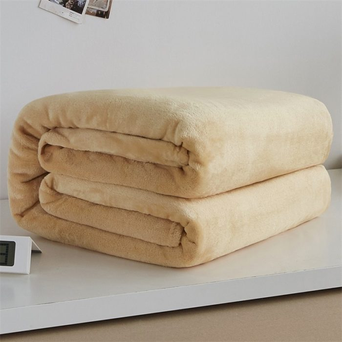 Plush Blankets Warm Soft Fleece