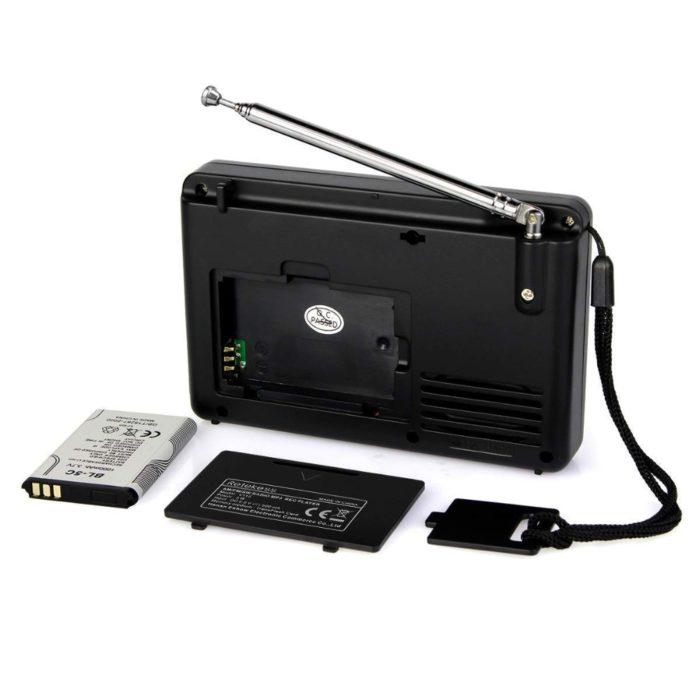Small Radio Recorder USB Player