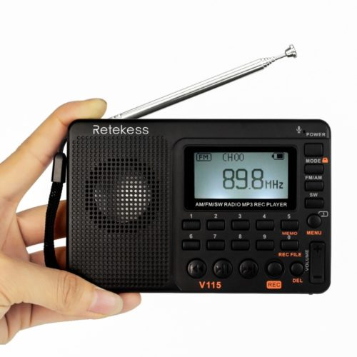 Small Radio Recorder USB Player