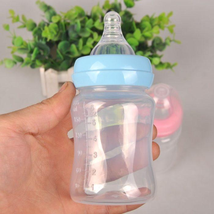 Baby Milk Bottle Wide Neck