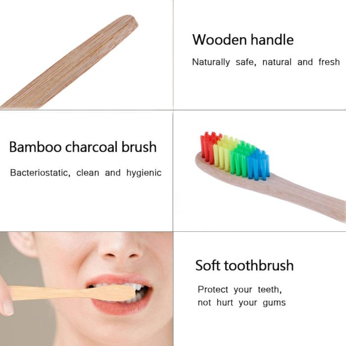 Bamboo Brush Eco-friendly Oral Care