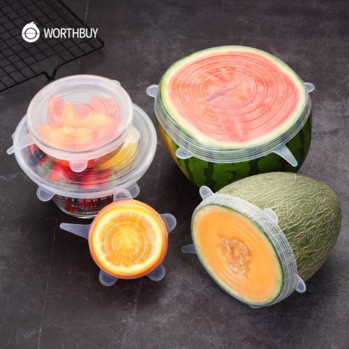 Lids Stretchable Silicone Food Cover