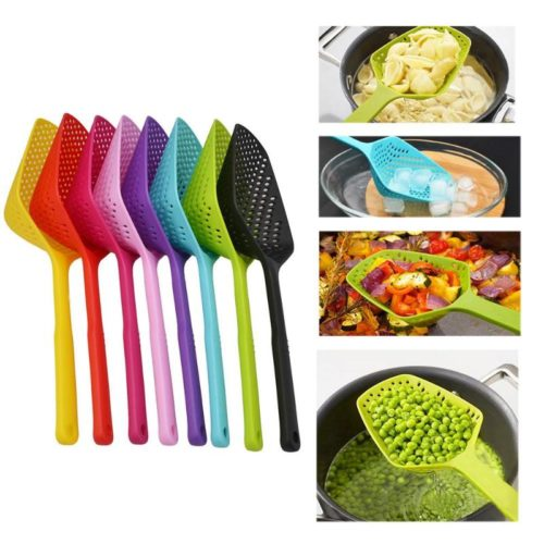Slotted Spoon Plastic Strainer