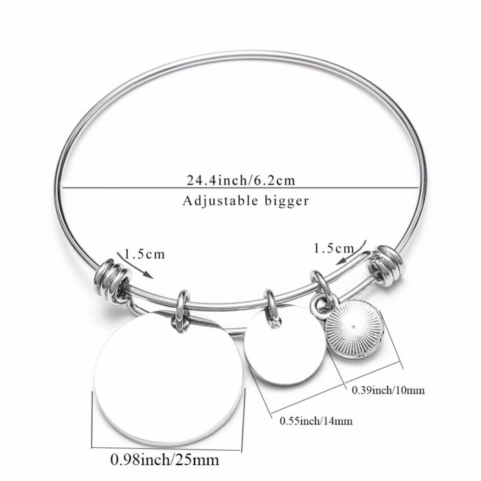 Birthstone Bracelets Friendship Bangles