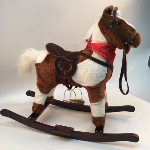 Wooden Rocking Horse Toy Ride