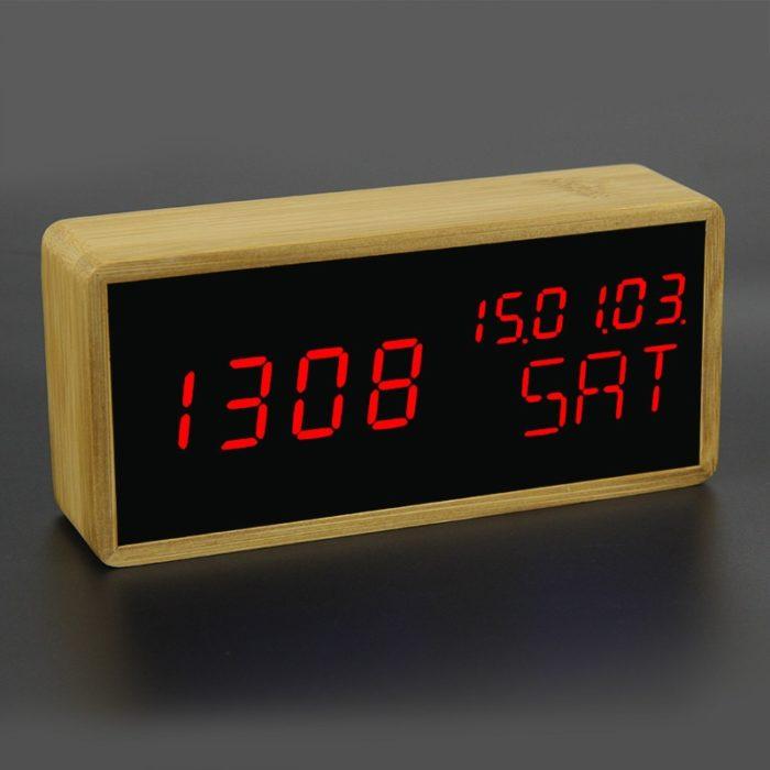 Cool Alarm Clocks Bamboo