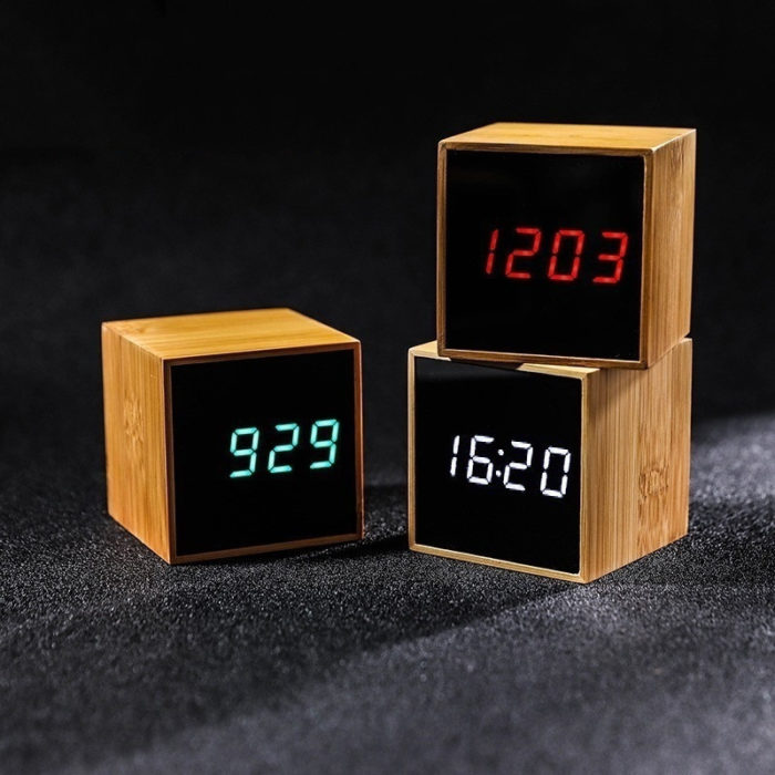 Cool Alarm Clocks Bamboo