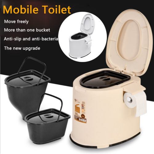 Portable Potty Indoor/Outdoor Toilet