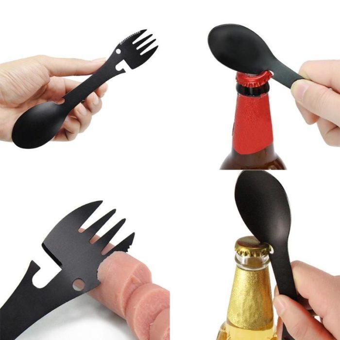 Spoon and Fork Utensil Set