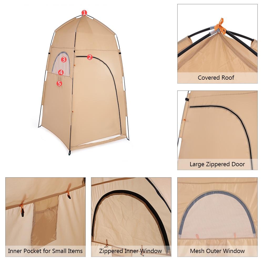 upouusi ostaa hämmästyttävä hinta Camping Shower Tent Portable Toilet