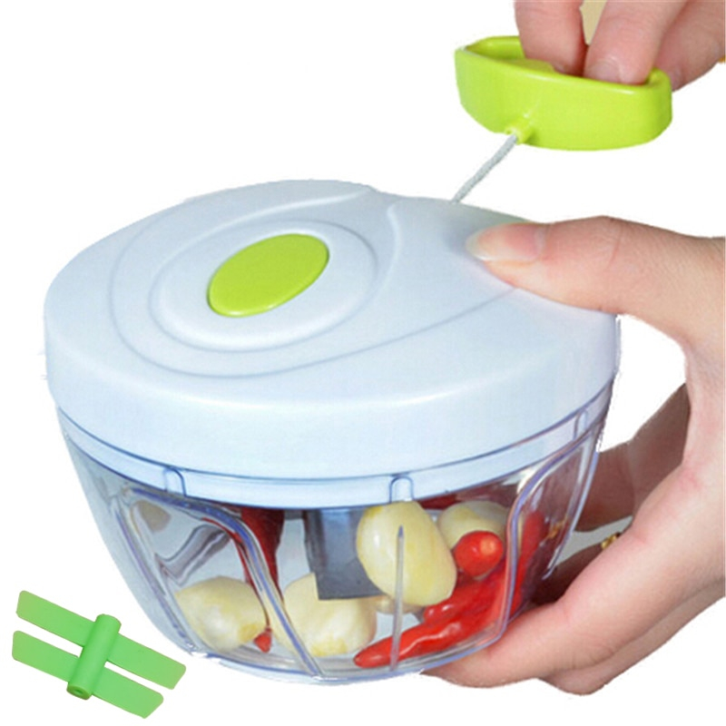 Food Chopper Manual Vegetable Cutter