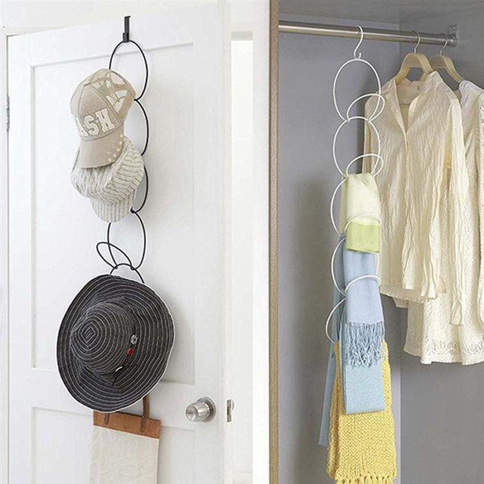 Hat Rack Wardrobe Closet Organizer