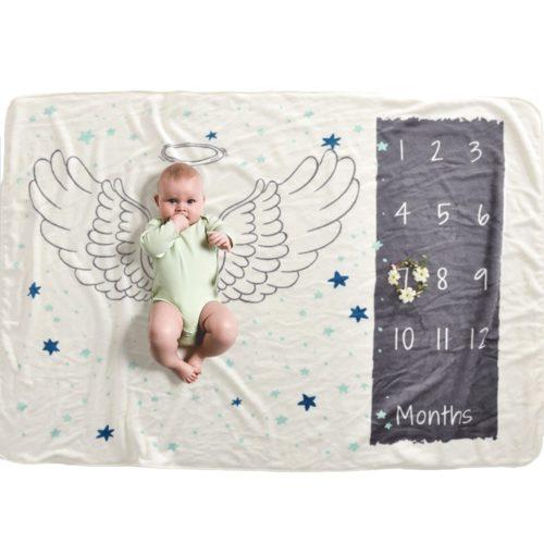 Baby Milestone Blanket Photography Props