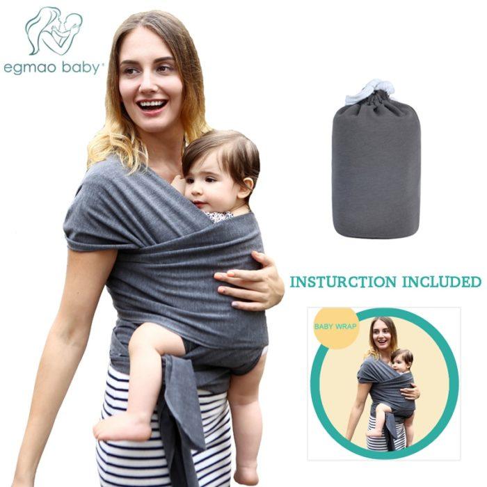 Baby Sling Carrier Ring Sling