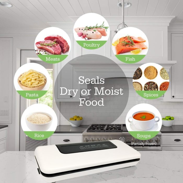 Food Saver Vacuum Sealer Sealing Machine