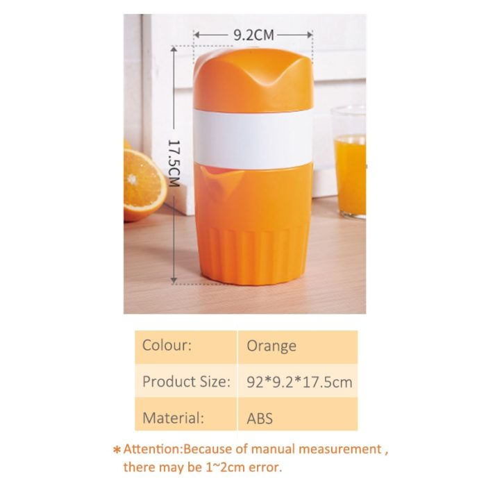 Manual Juicer Juice Maker