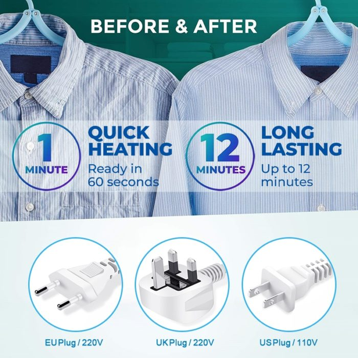Electric Iron Clothes Steamer