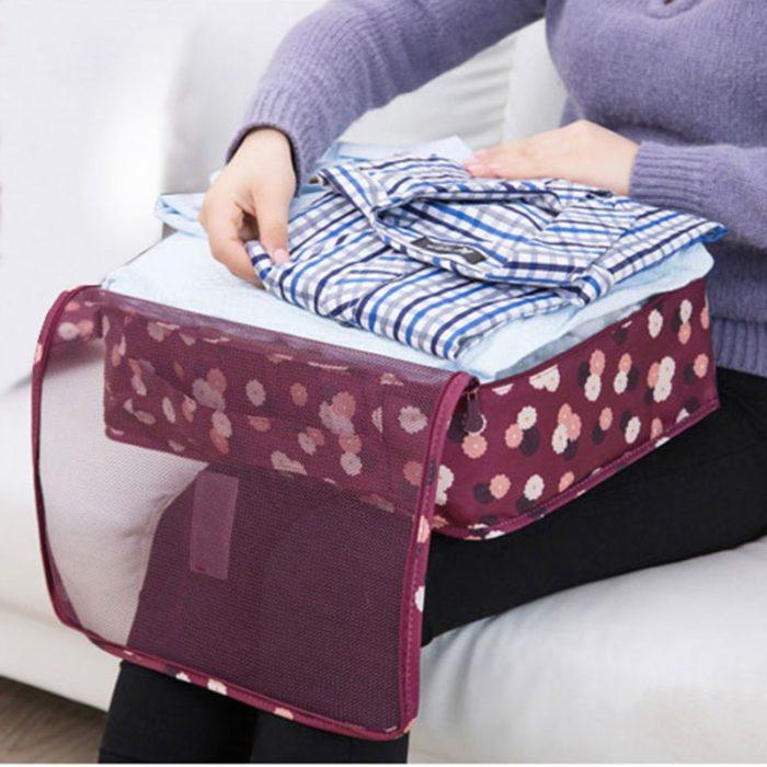 Packing Cubes Nylon Travel Organizers