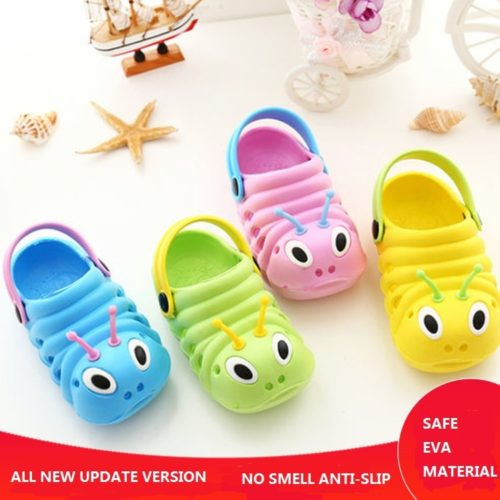 Childrens Slippers Kids Rubber Sandals