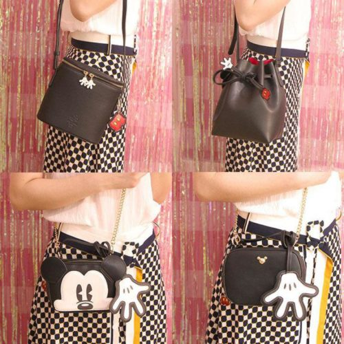Mickey Mouse Purse Leather Bags