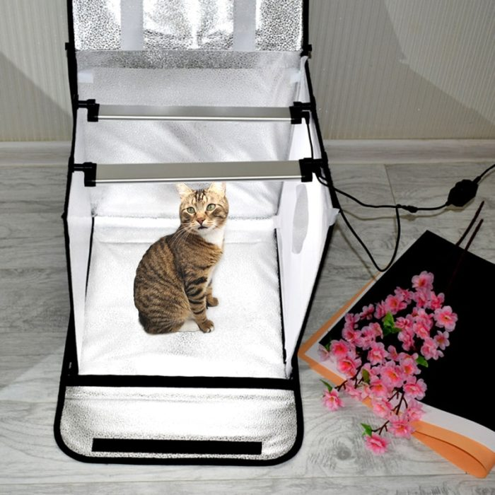 LED Light Box Photography Tent