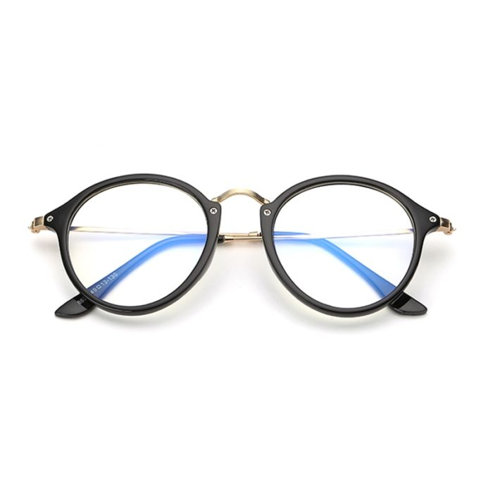 Blue light blocking glasses alloy frame