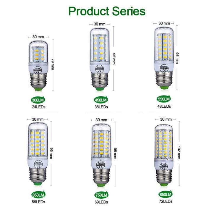 LED Bulb 220V Corn Lights
