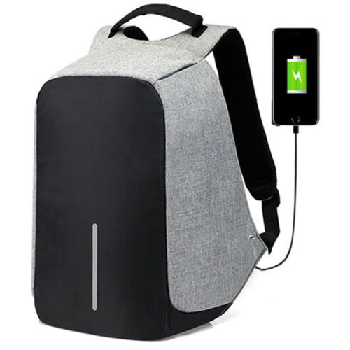 Theft Proof Backpack Laptop Bag