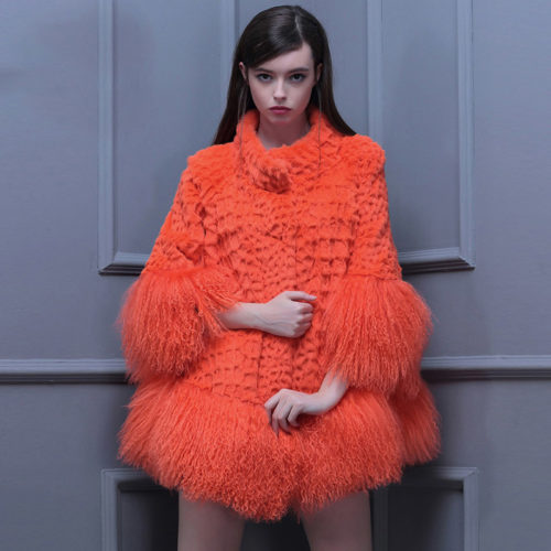 Fur Jacket Woman Outerwear