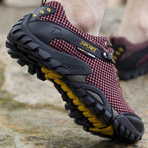 Trekking Shoes Breathable Tech