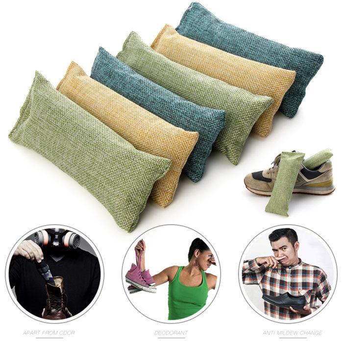 Odor Eliminator Bamboo Charcoal Bag