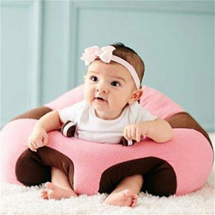 Baby Seat Portable Plush Chair