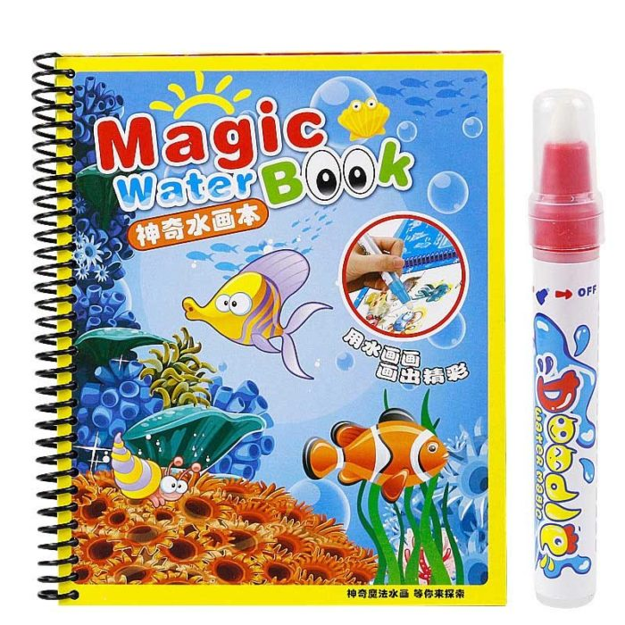 Coloring Book For Kids Drawing Board
